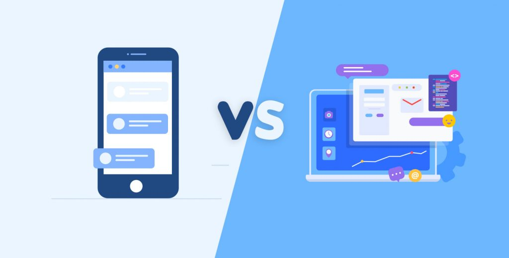 mobile app vs website