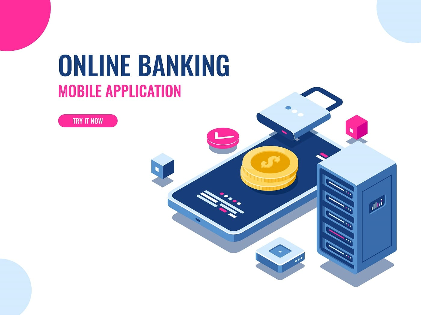 online mobile banking application